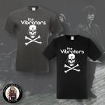 THE VIBRATORS SKULL T-SHIRT