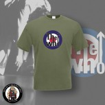 THE WHO TARGET T-SHIRT XXL / OLIVE