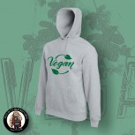 VEGAN LEAF HOOD M / grey