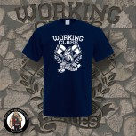 WORKING CLASS HEROES T-SHIRT L / navy