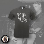 WIPERS LOGO T-SHIRT XL / DUNKELGRAU