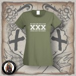 STRAIGHT EDGE GIRLIE XL / OLIVE