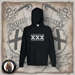 STRAIGHT EDGE HOOD Black / S