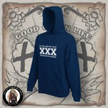 STRAIGHT EDGE HOOD L / navy