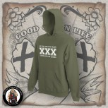 STRAIGHT EDGE HOOD XL / OLIVE