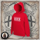 STRAIGHT EDGE HOOD S / red