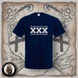 STRAIGHT EDGE T-SHIRT navy / 5XL